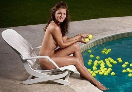 Radwanska posed naked for ESPN magazine