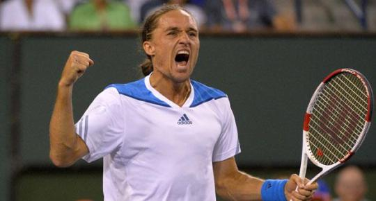 Dolgopolov was delighted to reach his first Masters Series semi-final.