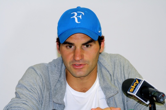 Roger Federer looks set for further title success.  Copyright:  Lisa-Marie Burrows